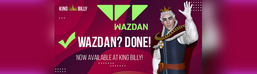 Wazdan? Done! (King Billy Casino liker rim)
