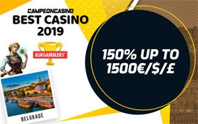 Campeonbet er et online spillnettsted med over 5000 casinospill!