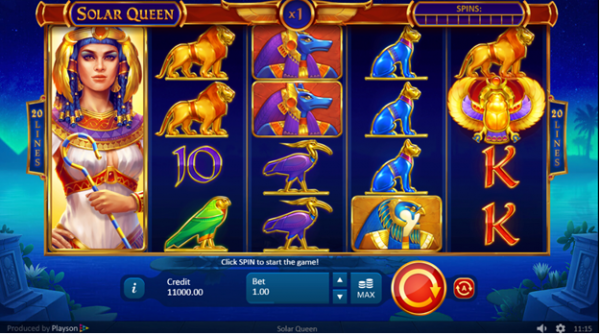 Solar Queen Slot by Playson