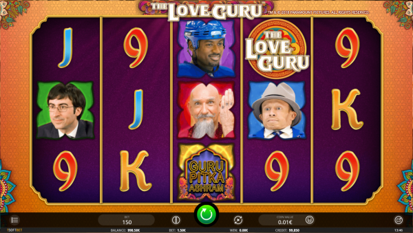 The Love Guru slot by iSoftBet - play it on February the 14th