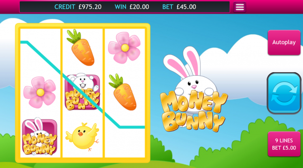 Eyecon presents the Money Bunny slot