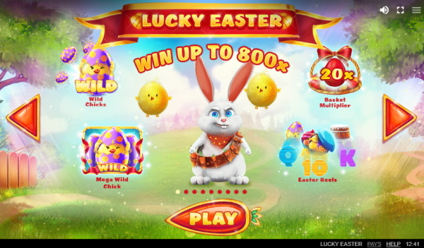 Lucky Easter slot by Red Tiger Gaming